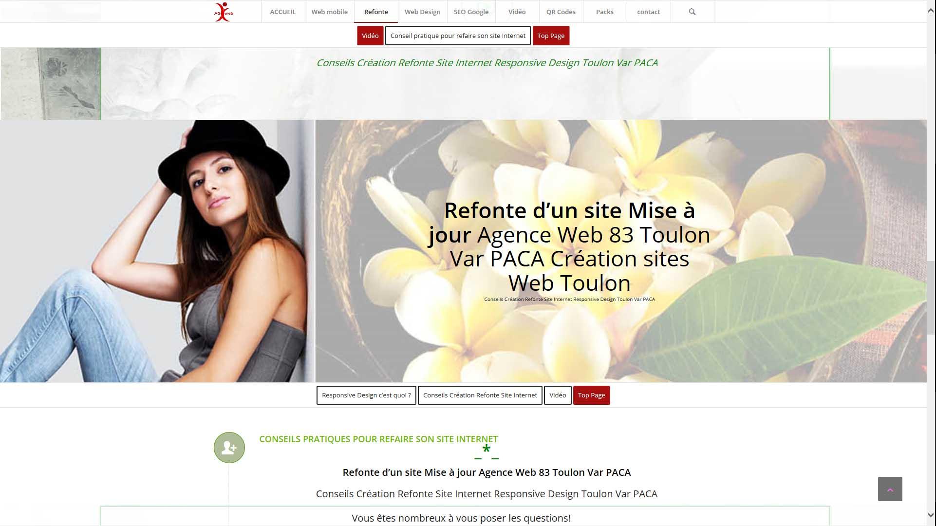 Conseils Création Refonte Site Internet Responsive Design Toulon Var PACA