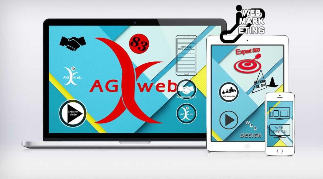 Agence WebDesign Toulon Var Site Web Dynamique Création Graphisme