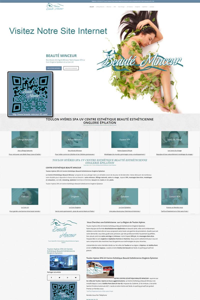 Agence Web Toulon Site internet Clé-En-Main Beauté-Minceur