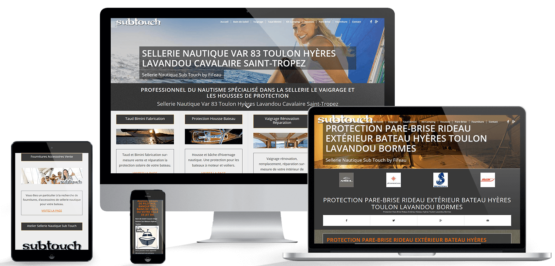 Agence Web Toulon Hyères Création Site Internet Var 83